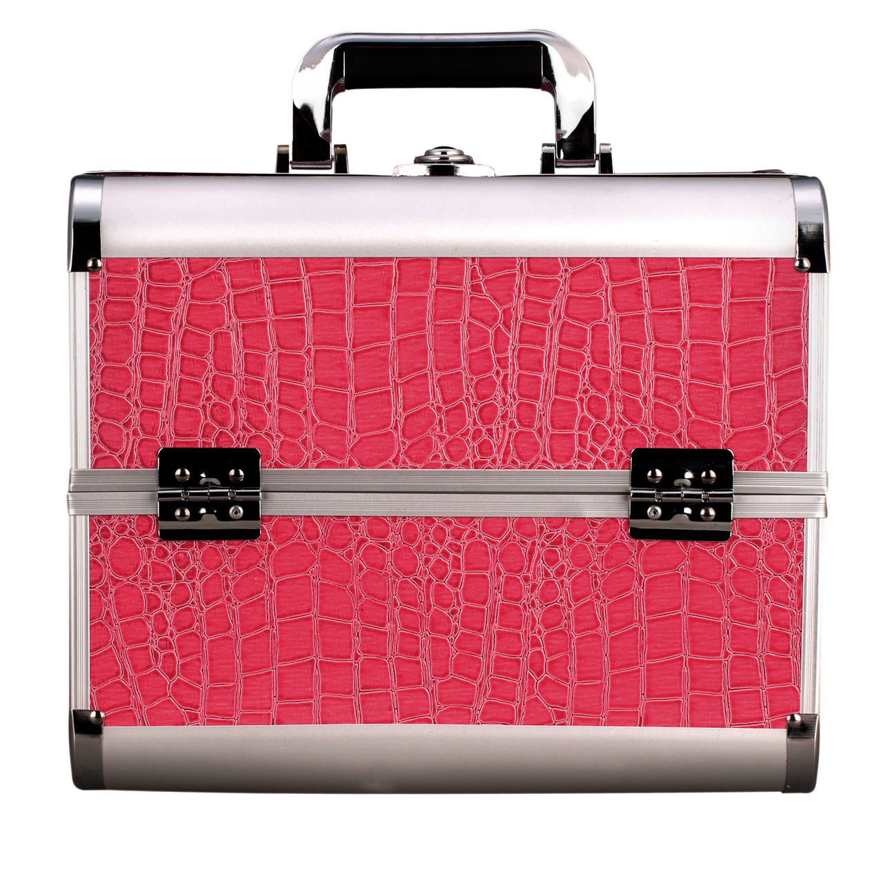 Алюминиевый кейс для косметики, цвет- розовый, лаковый  - Магия Красоты в Одесской области