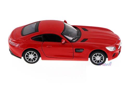 Машинка Kinsmart Mercedes SLS Красный