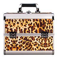 Алюминиевый кейс для косметики, серия tiger light 3#