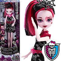 Кукла Monster High Welcome To Monster High Fangtastic Draculaura Doll Дракулаура Добро пожаловать в школу
