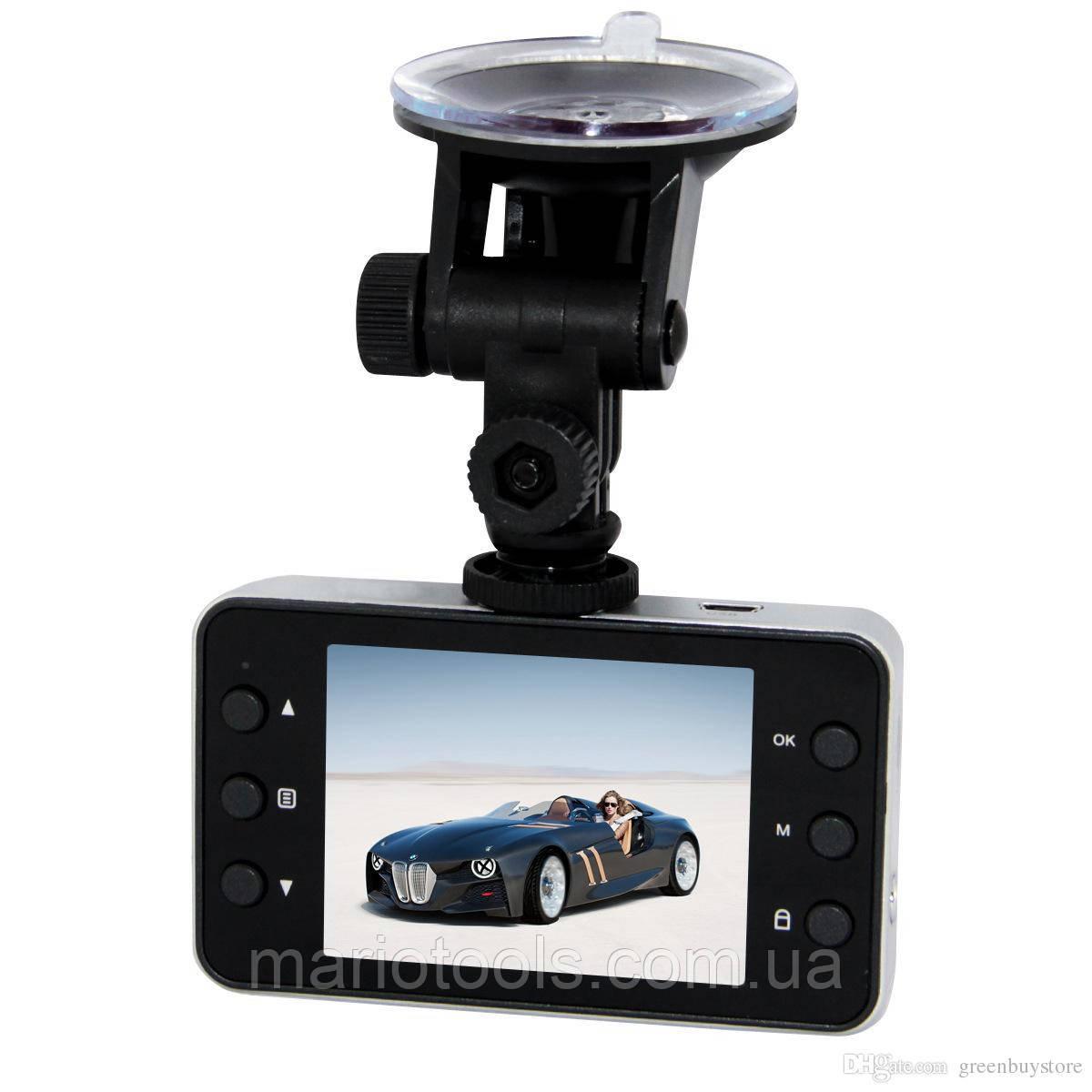 Автомобильный Видеорегистратор DVR K-6000, Full HD, 1080P