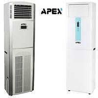 Осушитель воздуха APEX AQ-60D напольный 60 л/сутки  65-100 м3