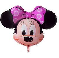 Надувная игрушка из фольги голова Мини Маус