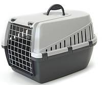 Savic ТРОТТЭР1 (Trotter1) переноска для собак и котов, пластик,темно-серый, 49Х33Х30 см