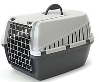Savic ТРОТТЭР2 (Trotter2) переноска для собак, пластик, темно-серый, 56Х37,5Х33 см