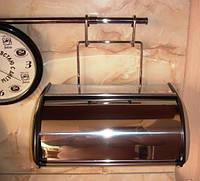 Хлебница на релинг хром , фото 1