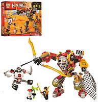 """Конструктор Конструктор ниндзяго Ninja """"Робот Ронина"""" (аналог лего 70592) 478 деталей"""