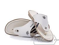 Мужские сандали белые