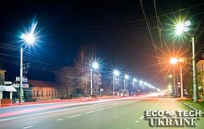 Уличное дорожное светодиодное освещение