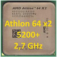 Процессор (б\у) AMD Athlon 64 X2 5200+,  2,7ГГц, Tray  5000 5400 5600 4800