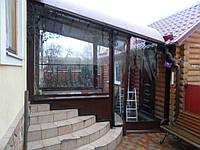 Утепление крыльца шторами ПВХ, фото 1