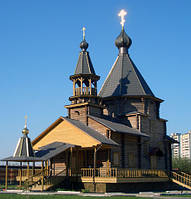Деревянные церкви из бруса