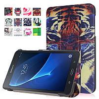 Чехол Samsung Galaxy Tab A 7.0 T280 T285 Ultra Slim Tiger