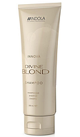 Восстанавливающий шампунь для светлых волос Indola Innova Divine Blonde Shampoo 250 ml