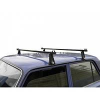 """Багажник на крышу """"Уни"""" 140см - универсальный багажник для авто с водостоком или спецкреплением"""