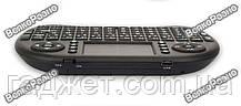 Беспроводная клавиатура пульт для Android Smart Tv черного цвета., фото 2