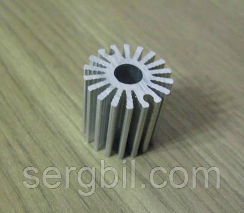 Радиатор для 1Вт светодиода d20х20мм