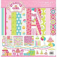 Набор скрап бумаги PHOTOPLAY Party Girl 30х30 см (814948021788)