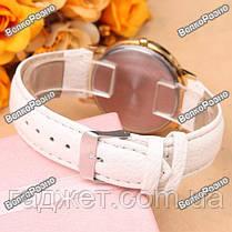 Женские часы Geneva Lace белого цвета, фото 3