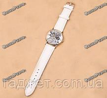 Женские часы Geneva Lace белого цвета, фото 2
