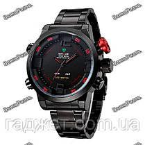 Мужские спортивные стильные часы Weide Sport Red, фото 2