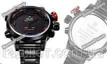 Мужские спортивные стильные часы Weide Sport Red, фото 3