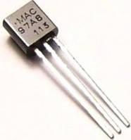 Симистор MAC97A8 - ТО-92, 0,6A 600В