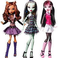 Кукла монстер хай Дракулаура Страшно высокая кукла 43 см. Monster High Draculaura