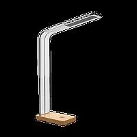 Настольная лампа  светодиодная Maxus intelite DESK LAMP GLASS 8W (DL5-8W-TRL)