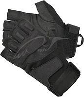 Перчатки BLACKHAWK! S.O.L.A.G. Half-Finger Gloves(без пальцев). Размер - S. Цвет - черный