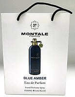 Montale Blue Amber edp 2x20 ml мини в подарочной упаковке
