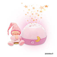 Проектор с игрушкой Chicco Звезды 02427
