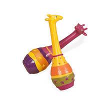 Детский музыкальный инструмент «Battat» (BX1251GTZ) набор маракасов Два жирафа Джунгли