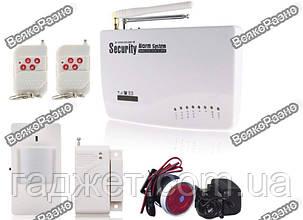 Беспроводная GSM сигнализация,Русский интерфейс, Security Alarm System, фото 2