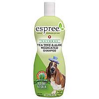 Терапевтический шампунь для собак Espree Tea Tree & Aloe Shampoo, 355 мл