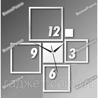 Оригинальные настенные часы квадраты