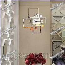 Оригинальные настенные часы квадраты, фото 2