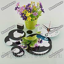 Настенные часы в черном цвете. Часы на стену., фото 3