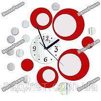 Настенные часы в красном цвете., фото 3