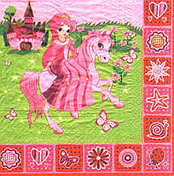 Салфетка для декупажа Принцесса 6685
