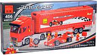Конструктор 406 Грузовик-F1, Brick 561 деталь