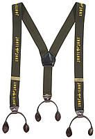 Подтяжки Jahti Jakt Logo Suspenders Green