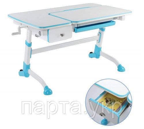 Парта стол трансформер Amare + ящик