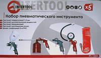 КОМПРЕССОРЫ:Набор пневматического инструмента INTERTOOL PT-1501