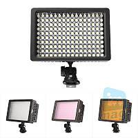 Накамерный светодиодный свет LD-160, 5400K (3200K/фильтр).