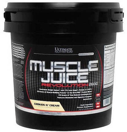 Muscle Juice Revolution 2600 Ultimate Nutrition 5040g, фото 2