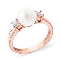 """Очаровательное кольцо с натуральным жемчугом """"Serenity"""""""