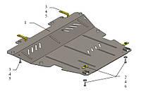 Защита двигателя и КПП на Renault Kangoo II 2008-> (стальная) —  KOLCHUGA (Украина) - 1.0339.00