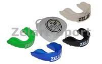 Капа одночелюстная ZELART (термопластик,  цвета в ассортименте, пластиковый футляр)юниор