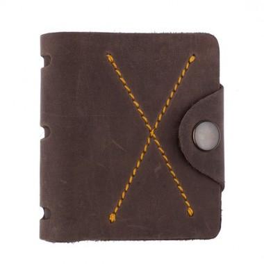 """Чоловічий гаманець """"Х2"""" ручної роботи"""